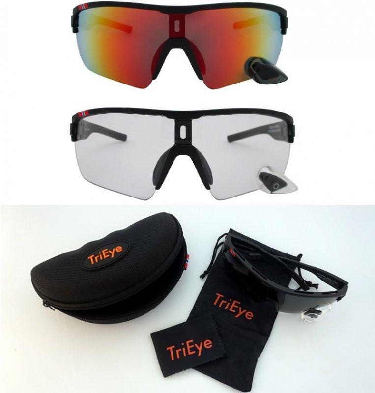 TriEye PRO Advanced SET - schwarzer Rahmen